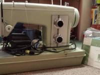 The sewing equipment is in exceptional condition, has