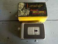 Vintage kodak brownie 8mm movie camera with original