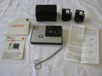 Vintage kodak disc 4000 plus rare accessory telephoto &