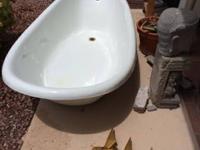 Vintage Kohler Clawfoot Bathtub.  1974 Kohler