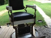 Vintage Barber Chair by Koken Companies. $900 obo.