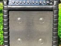 1970 vintage Kustom K150-8 guitar amplifier with spring