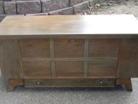 "Very nice vintage Lane Cedar Chest. Measures 47"" wide x"