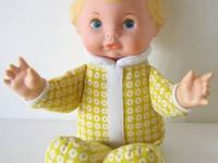 Vintage Fisher Price Honey 208 Lapsitter Doll 1975
