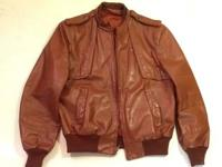 Mens Full Zip Cafe Racer Leather Jacket By: Casablanca