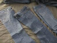 Rare Find! Funky and cool bell bottom denims! Exactly