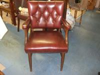This is a vintage office or library style chair in