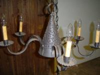 Vintage Style hanging ceiling light  Chandelier 6 bulb