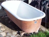 I HAVE A VINTAGE LIONS CLAW FOOT CAST IRON TUB FOR