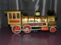 This is a rare Tin Litho Train by Modern Toys