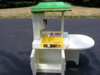 Vintage Little Tikes Party Kitchen. Circa 1970's. It is