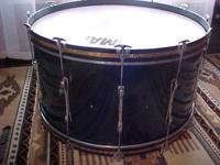 Very large Bass Drum. Purchased it with a number of