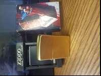 Gold Marlboro Zippo lighter brand new still has a