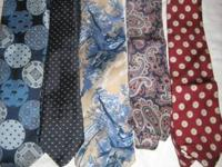 "Wear the ties that a typical ""madman""(ad man) of the"