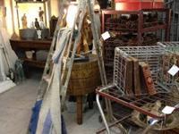 Vintage Metal Airplane Ladder 10.5' Long Was $345 Sale