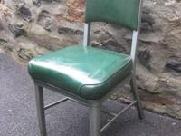 I have several vintage steel office/side chairs to