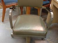 Vintage Metal Mad Men Office Chair Very Groovy $125