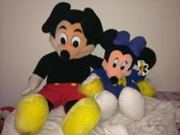 These are fantastic for any collector or fan of Mickey