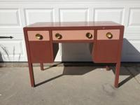 For the lover of all things vintage, metal mid century