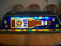 This is an original vintage Miller High Life Pool Table