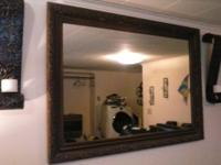 I have 2 vintage mirrors from the 1950's for sale. The