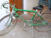 This is a great cruiser bicycle. It is a 1950's Monark