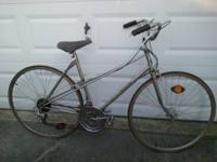 Vintage bicycle . Just needs a little clean up/tune up.