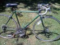 Motobecane 10 speed, all original except seat & post.