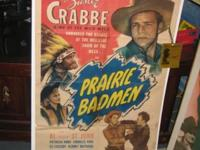 I have four western movie posters: 1) Hoppy's Holiday -