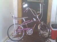 I am selling my 160-1970's Firestone Muscle bike. this