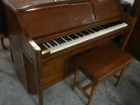 classic Musette player piano from around the 50s or 60s