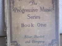THE PROGRESSIVE MUSIC SERIES, BOOK ONE BY SILVER,