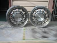 "1 pair 14"" x 6"", w / trim rings and caps. 456-1696"