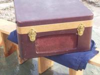 78-rpm collector's phonograph suitcase in great working