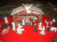 This Creche is very old and in excellent condition. It