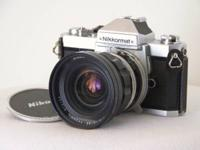 Offering my collection of vintage Nikon 35mm devices;