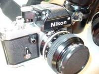 I am selling a vintage Nikon f2 camera, DP-1 viewfinder