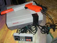 Vintage Nintendo NES console Works great, great