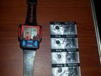 vintage nintendo tetris watch year 1990 - $70.00 (ZERO