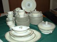 Stunning Vintage Noritake China set for 12 Includes 12