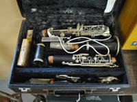 Made in Franc. Vintage Normandy Clarinet w/ case