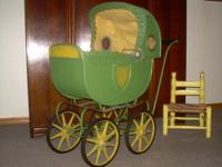 Kroll Kab Baby Carriage Circa 1920s 1930s I was not
