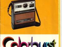 CLASSIC OLD SCHOOL KODAK COLORBURST INSTANT CAMERA