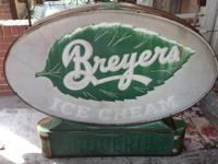 WE ARE SELLING A Vintage ORIGINAL 1930s-40s BREYERS ICE
