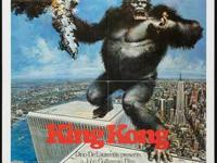 "King Kong (Paramount, 1976). One Sheet (27"" X 41"")."