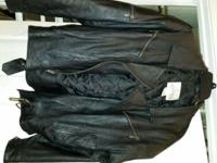 Gently Used Vintage Otello Pelle Leather Jacket Size