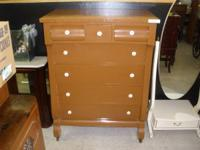 I HAVE A VINTAGE CHEST OF DRAWERS FOR SALE. IT HAS BEEN