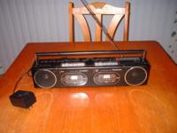 Vintage Panasonic Boom Box 1980's RX-F11 comes with two