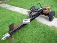 Vintage Panther 10-Ton Hydraulic Gas Powered Log