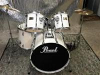 This is an 80's era Pearl kit that was built to last.